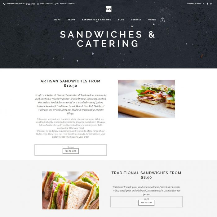 Sydney Catering Co - Sandwiches Catering