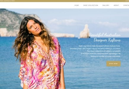 Ajaii – Fashion E-commerce Website