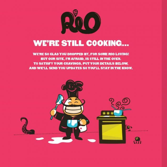 Return to Rio – Landing Page -