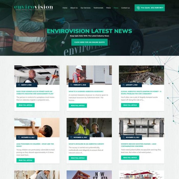 Envirovision - Blog