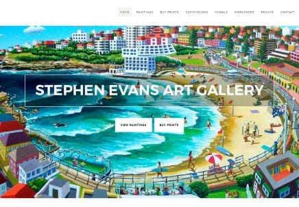 Stephen Evans Art Gallery