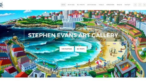 Stephen Evans Art Gallery