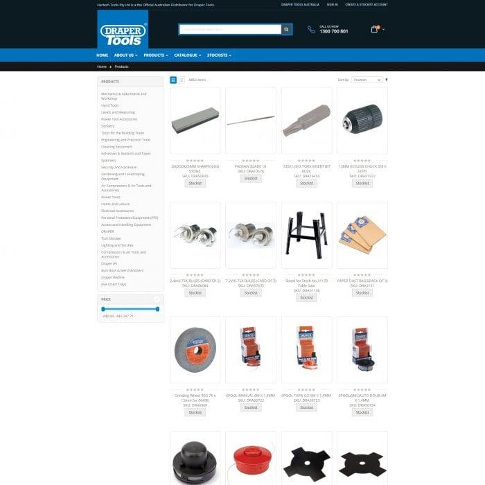 Draper Tools - Products