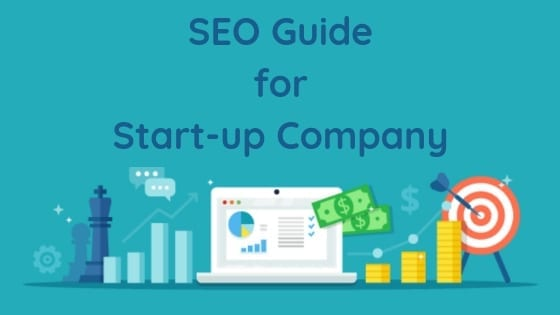 seo guide for start up company banner