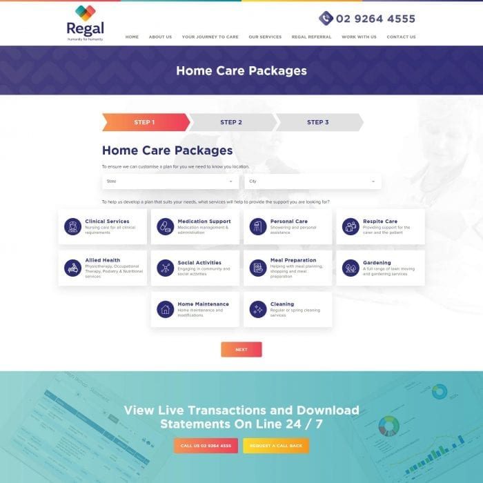 Regal Health - Home Care Packages