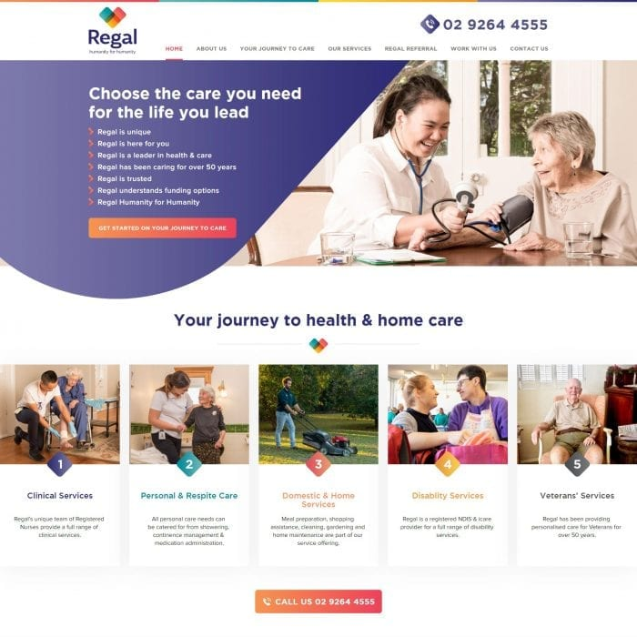 Regal Health - Home Page