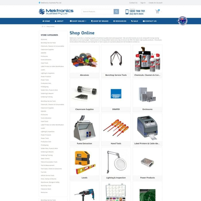 Mektronics - Shop Online