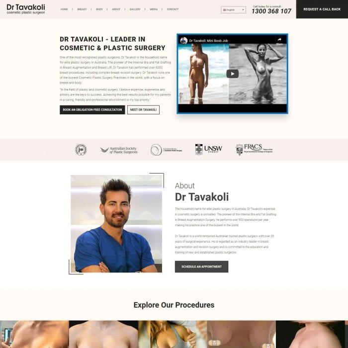 Dr Tavakoli - Home Page