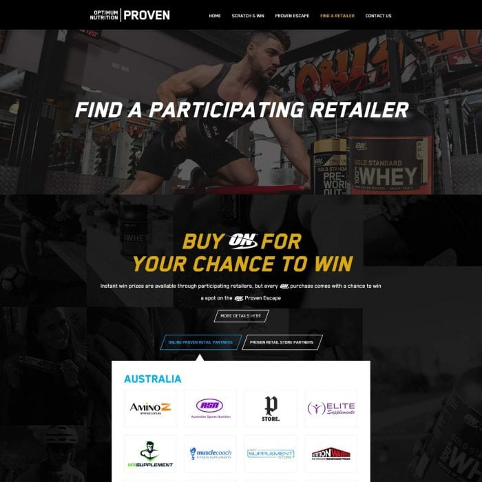 ON Proven - Find A Retailer