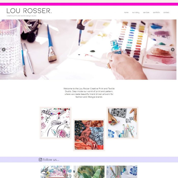 Lou Rosser - Home page