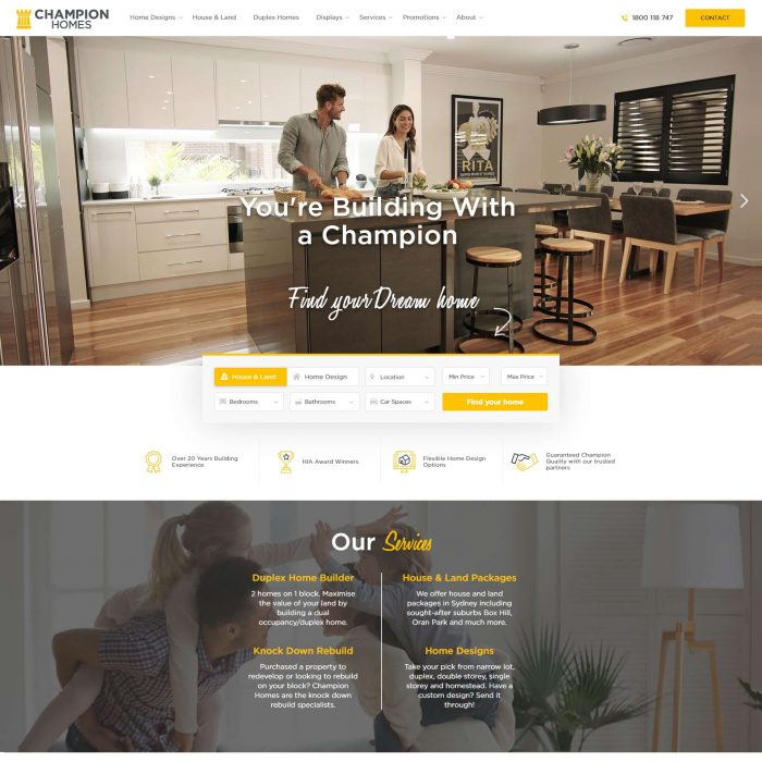 Champion Homes - Home page