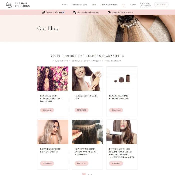 Eve Hair Extensions - Blog