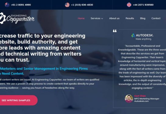 Engineering Copywriter