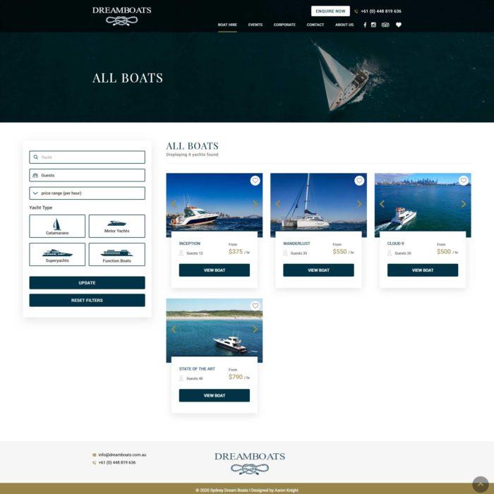 Dreamboats - All Boats