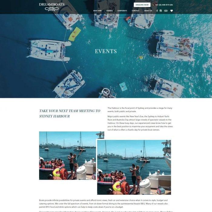 Dreamboats - Events