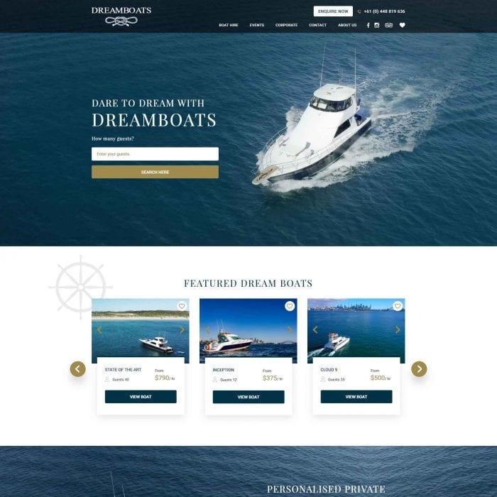 Dreamboats - Home