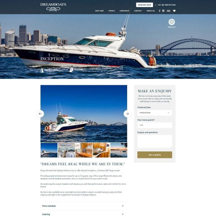 Dreamboats - Single Boat