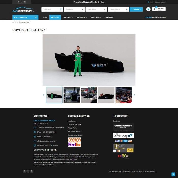 Car Accessory World - Covercraft Gallery